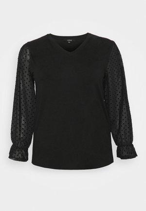 SLEEVE - Long sleeved top - black