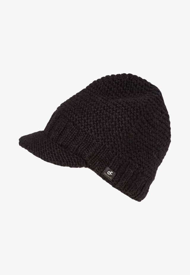 TEDDY HAT - Mössa - black