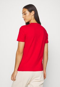 adidas Originals - TREFOIL TEE - Printtipaita - light red - 2