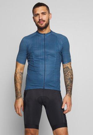 LINE BRAND TRIKOT - T-Shirt print - deep water blue/orbit blue