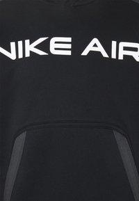 Nike Sportswear - AIR HOODIE - Hoodie - black/dark smoke grey/white - 5
