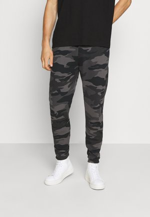 Teplákové kalhoty - trad camo black