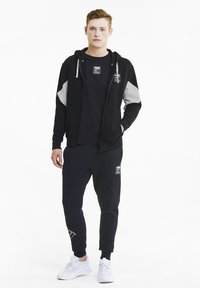 Puma - REBEL  - Zip-up hoodie - black - 1
