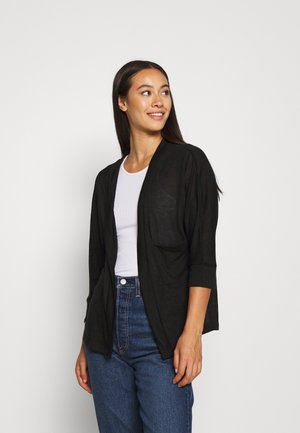 NMMOLLY CARDIGAN - Strickjacke - black