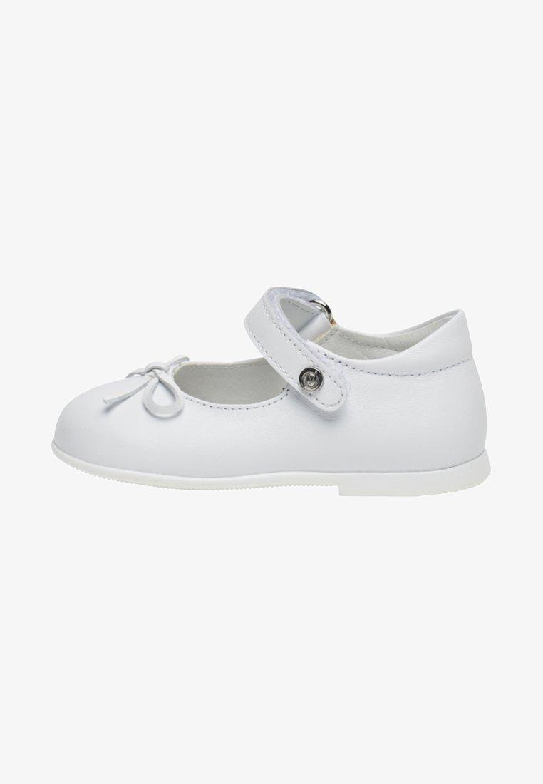 Naturino - NATURINO BALLET - Ankle strap ballet pumps - white