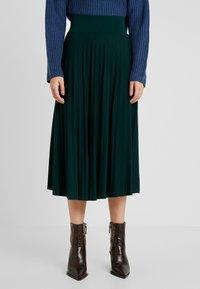 Anna Field Petite - A-line skirt - scarab - 0
