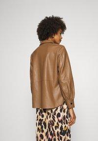 Opus - FEDA - Button-down blouse - peanut - 2