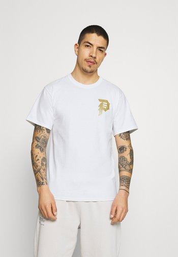 DOOM TEE - T-shirt med print - white