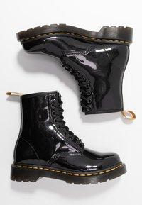 Dr. Martens - 1460 VEGAN 8 EYE BOOT - Veterboots - black/opaline - 3