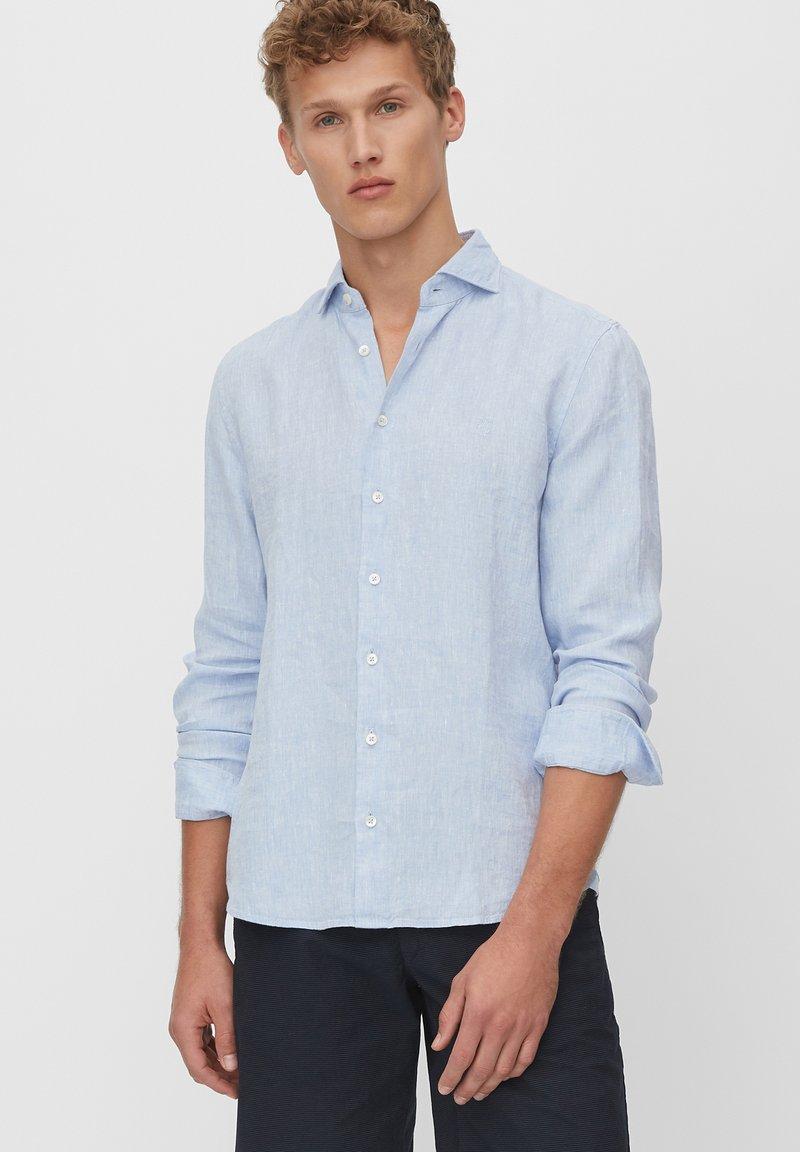 Marc O'Polo - LANGARM-HEMD SHAPED - Shirt - multi/serenity