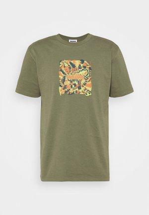 JUNGLE LOGO UNISEX - Print T-shirt - khaki green