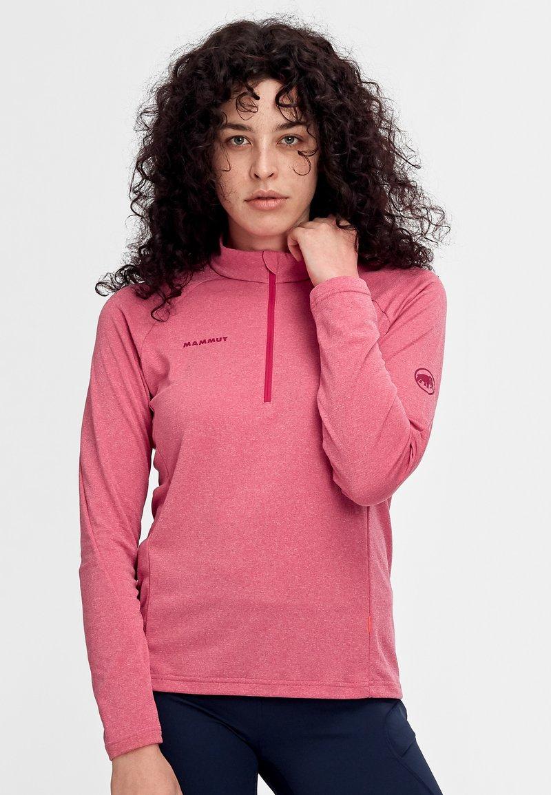 Mammut - AEGILITY  - Sports shirt - sundown
