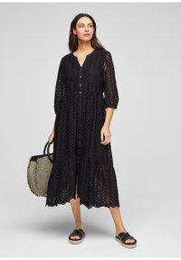 s.Oliver BLACK LABEL - Day dress - true black - 1