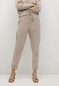 Mango - FLORIDA - Teplákové kalhoty - gris claro/pastel - 0