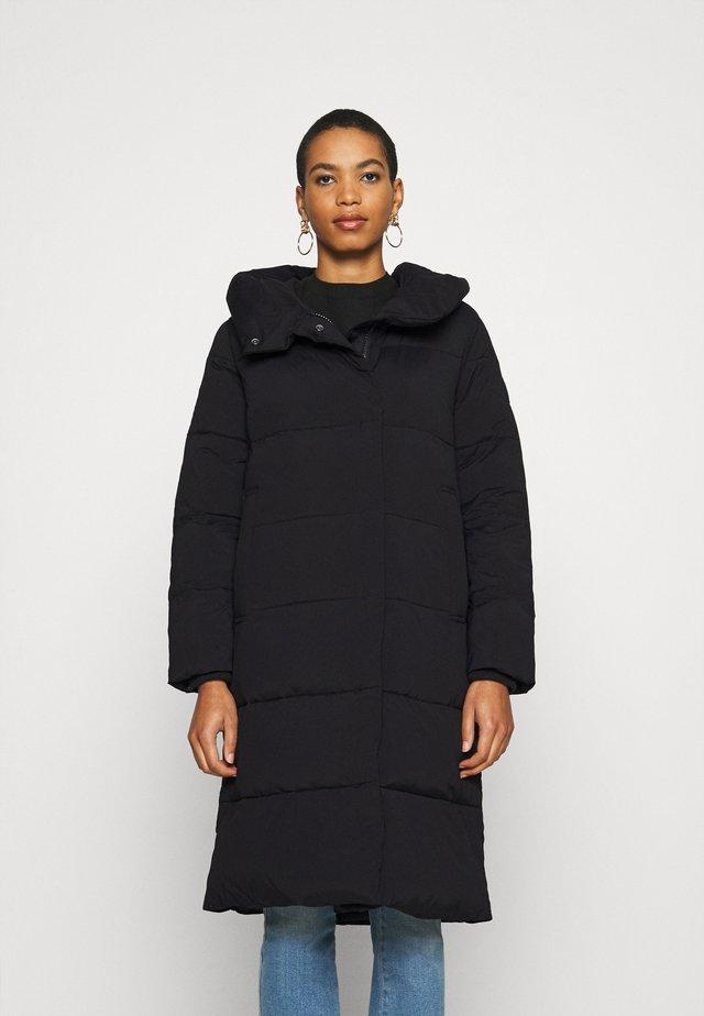 LONG COAT - Zimní kabát - black
