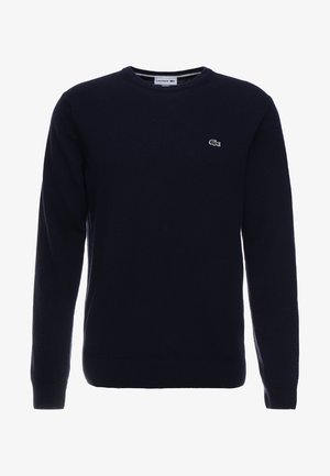 Neule - navy blue/sinople-flour