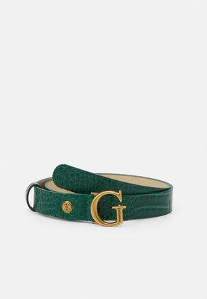 RAFFIE ADJUSTABLE PANT BELT - Pásek - green