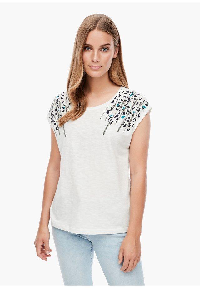 MIT ARTWORK - T-shirt print - cream animal print