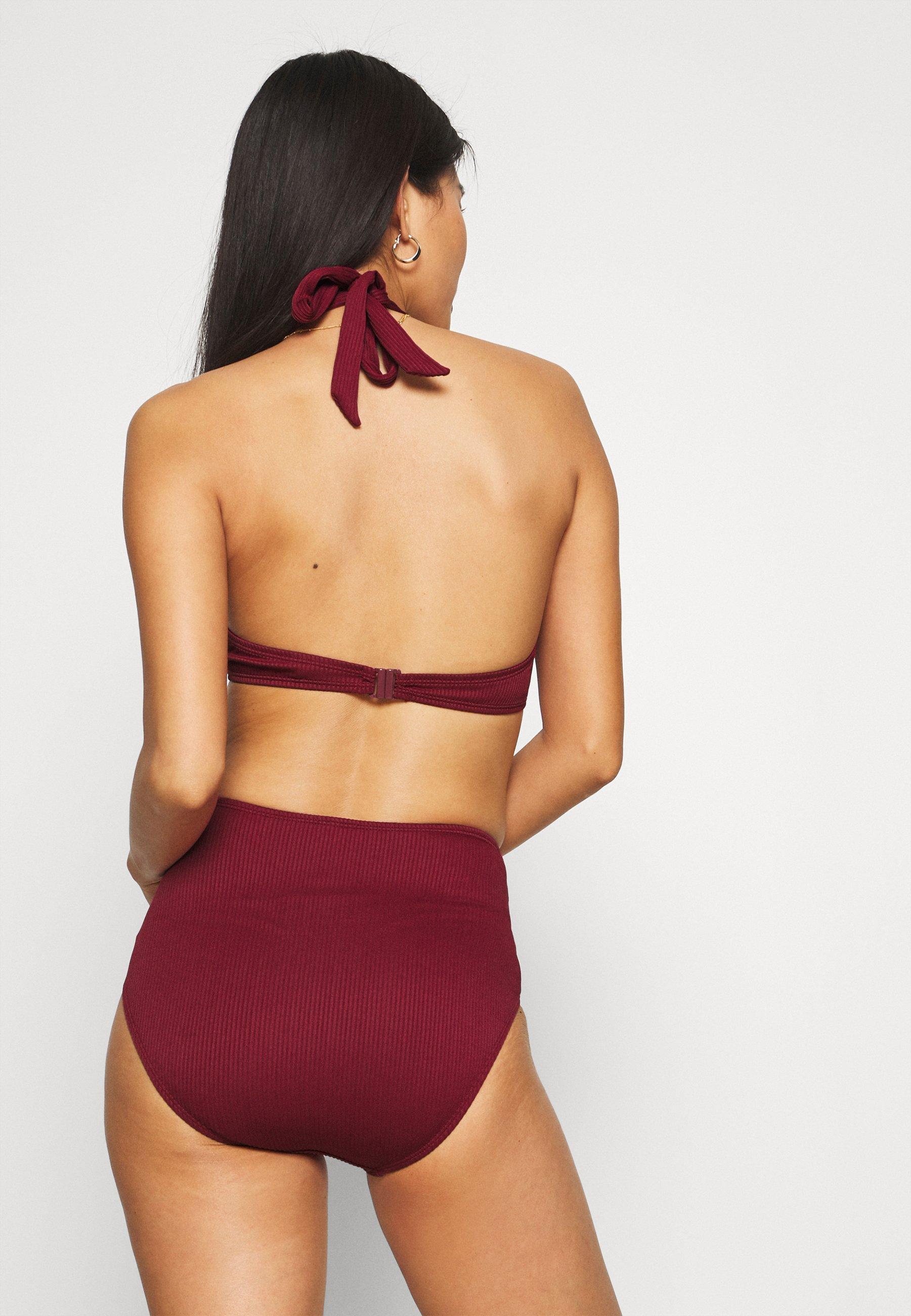 Women GOLDEN RINGS - Bikini top