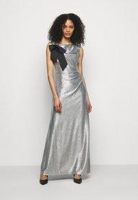 Lauren Ralph Lauren - LONG GOWN - Occasion wear - dark grey/silver - 0