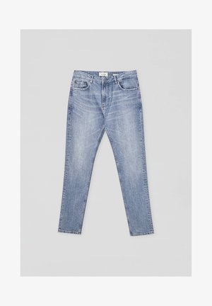 Jeans slim fit - mottled blue