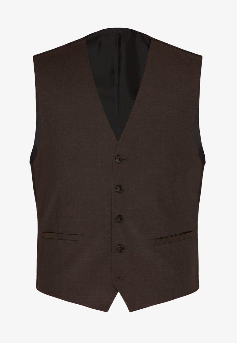 Carl Gross - SCHICKE  FüR JEDEN ANLASS - Suit waistcoat - braun