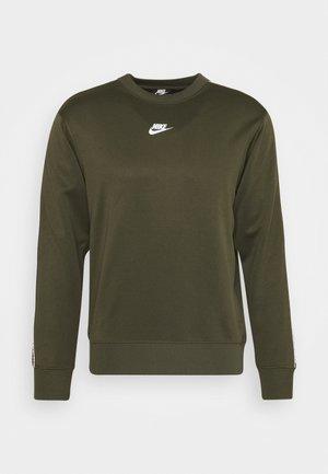 REPEAT CREW - Långärmad tröja - cargo khaki