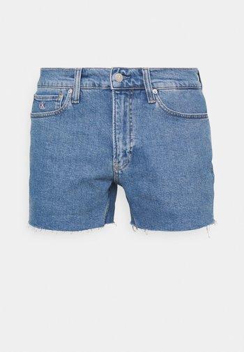 PRIDE FASHION FIT UNISEX - Shorts - denim medium