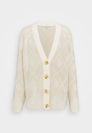 BEATA - Cardigan - white/ oat