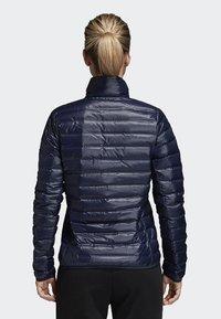 adidas Performance - VARILITE OUTDOOR DOWN - Winter jacket - dark blue - 1