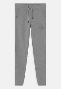 Jack & Jones Junior - JJIGORDON JJSHARK - Pantalon de survêtement - light grey melange - 0