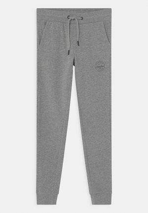JJIGORDON JJSHARK - Tracksuit bottoms - light grey melange