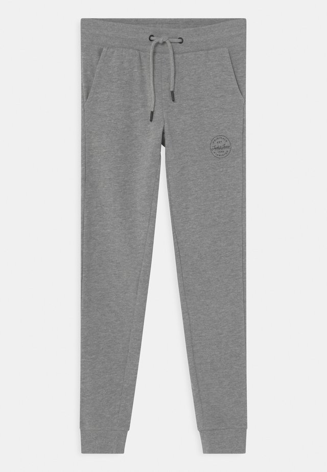 JJIGORDON JJSHARK - Trainingsbroek - light grey melange