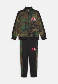 Jordan - JUMPMAN CLASSICS III SUIT SET - Tracksuit - multi-coloured/mottled olive - 0