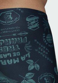 adidas Performance - FESTIWILD - Swimming trunks - blue - 3