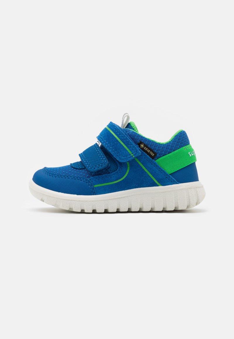 Superfit - SPORT MINI - Boty se suchým zipem - blau/grün