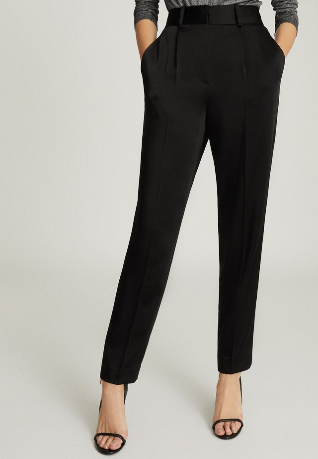 ELYSSAH - Trousers - black