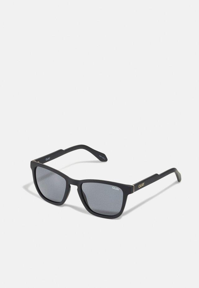 HARDWIRE - Lunettes de soleil - matte black/smoke