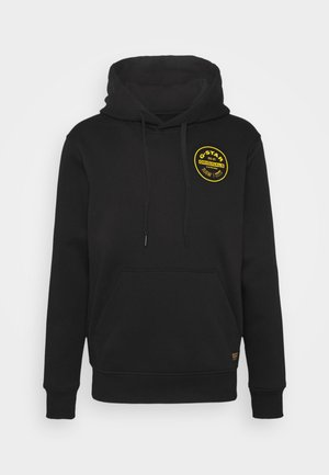 ROUND ORIGINALS HOODED LONG SLEEVE - Hoodie - black