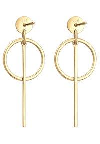 Elli - HÄNGER GEO  - Earrings - gold-coloured - 5