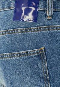 Bershka - Straight leg -farkut - blue denim - 5