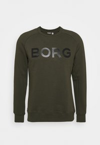 Björn Borg - LOGO CREW - Sweatshirt - forest night - 0