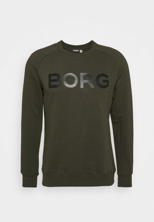 LOGO CREW - Sweatshirt - forest night