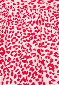 Simply Be - FRILL SLEEVE SMOCK DRESS - Jersey dress - pink - 6