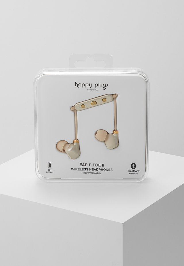 EAR PIECE II - Headphones - matte gold-coloured