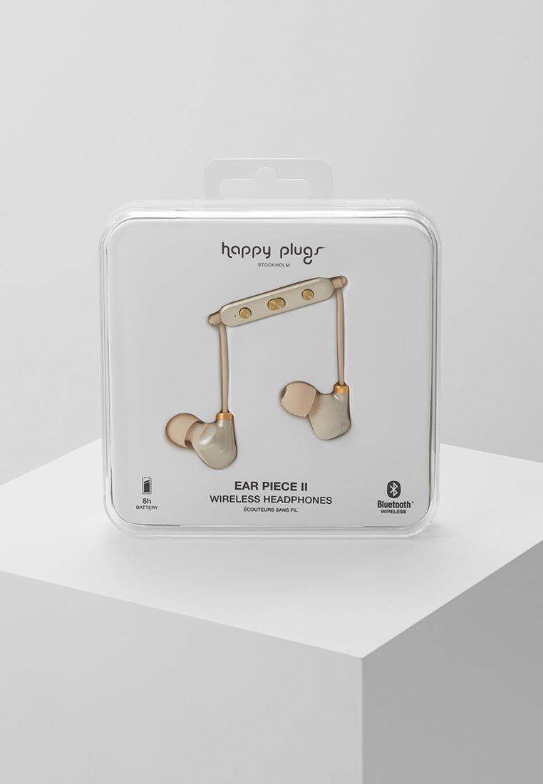 Happy Plugs - EAR PIECE II - Headphones - matte gold-coloured