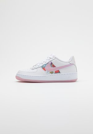 AIR FORCE 1 - Baskets basses - white/light arctic pink/metallic silver