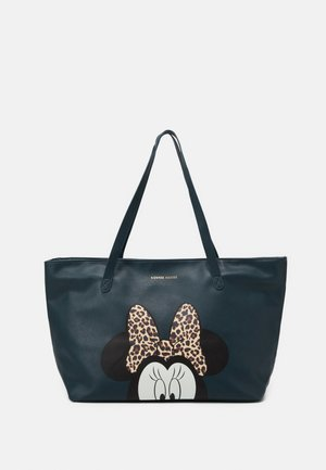 MINNIE MOUSE MOST WANTED ICON - Bolso shopping - green