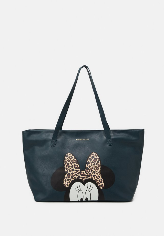 MINNIE MOUSE MOST WANTED ICON - Torba na zakupy - green