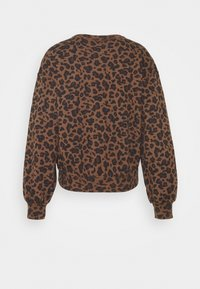 Abercrombie & Fitch - PATTERN CREW - Sweatshirt - brown - 1